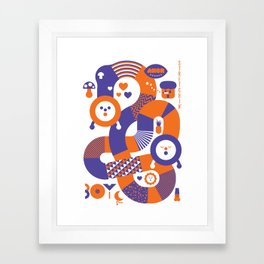 AXOR Heroes - Noby Noby Boy Framed Art Print