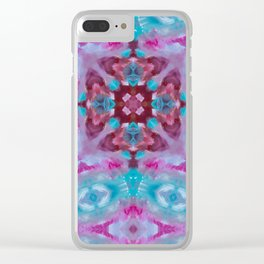 Feathered Stardust Clear iPhone Case