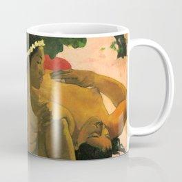 "Paul Gauguin ""Aha Oe Feii? (Eh quoi! Tu es jaloux?)"" Coffee Mug"