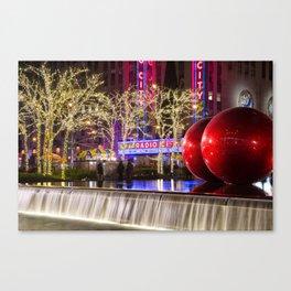Radio City Canvas Print