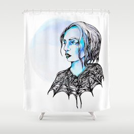 Of the Night Shower Curtain