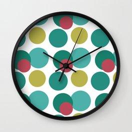 Capitales Wall Clock