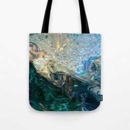 Sea Nymph Abstract Tote Bag