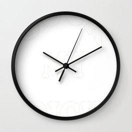 NICK CAVE INSPIRED 'SUCK MY DICK' TEE WHITE Wall Clock