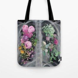 Pneumoflora X-Ray Tote Bag