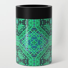 Doodle Pattern 24 Can Cooler