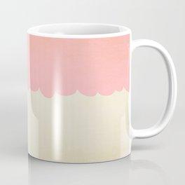 A Single Pink Scallop Coffee Mug