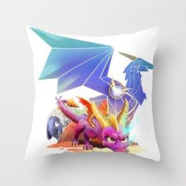 Spyro Reborn Throw Pillow