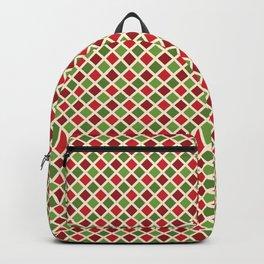 Christmas Pattern | Xmas Gift Idea Santa Claus Backpack