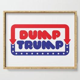 Dump Trump Serving Tray
