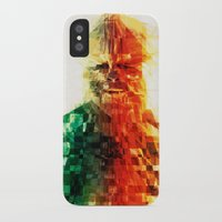 chewbacca iPhone & iPod Cases featuring Chewbacca by Tom Johnson