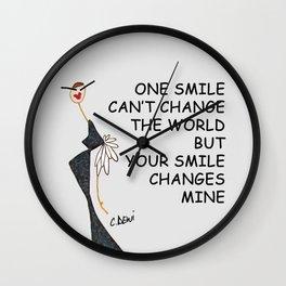 FUNNY GIRL Wall Clock