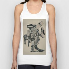 The Menace of Any Shadow Unisex Tank Top