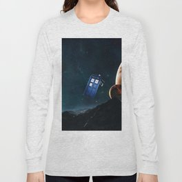 tardis doctor who Long Sleeve T-shirt