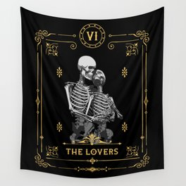The Lovers VI Tarot Card Wall Tapestry