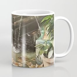 Andalusian garden of the house of the painter Sorolla in Madrid Coffee Mug