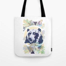 Quiet Bear Tote Bag