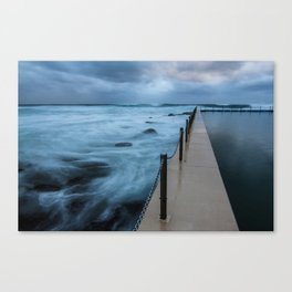 Water of Contrast  Canvas Print
