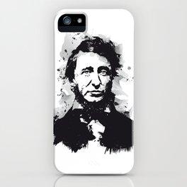 Henry David Thoreau iPhone Case