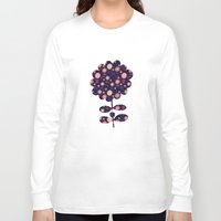 flora Long Sleeve T-shirts featuring Flora by Valendji