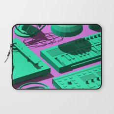 Low Poly Studio Objects 3D Illustration Laptop Sleeve