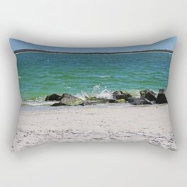 Floating Memories Rectangular Pillow