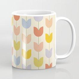 Tulip Pattern - Rainbow Coffee Mug