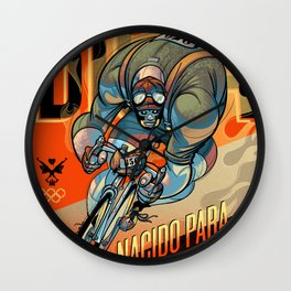 NACIDO PARA RODAR Wall Clock