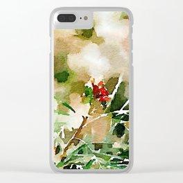 aprilshowers-61 Clear iPhone Case