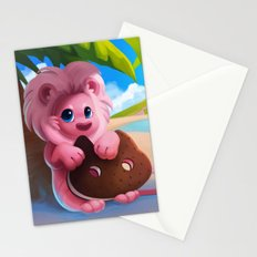 Lion on the Beach Stationery Cards