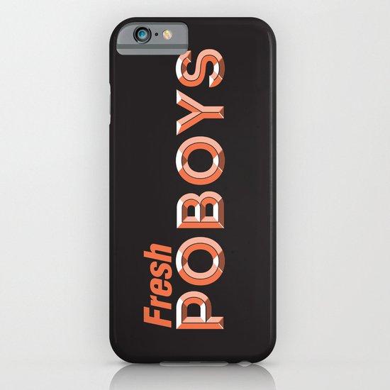 Fresh Poboys iPhone & iPod Case