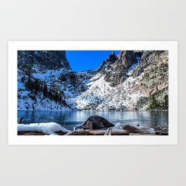 Rocky Mountains 2 Art Print