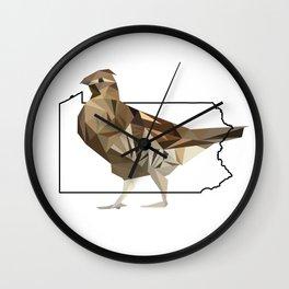 Pennsylvania – Ruffed Grouse Wall Clock