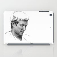 michael scott iPad Cases featuring SCOTT MICHAEL FOSTER by UNDER THE FEATHER