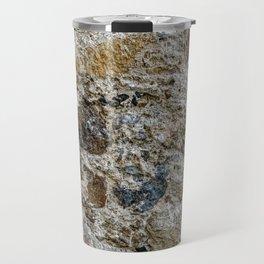 Stone Wall Structure (wheathered) Travel Mug