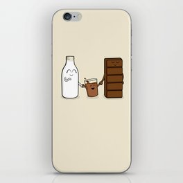 Milk + Chocolate iPhone Skin