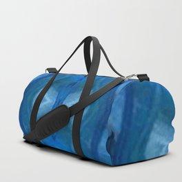 Pattern III Blue Duffle Bag