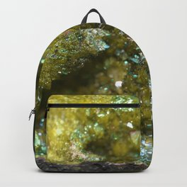 Geode Abstract Citrine Backpack