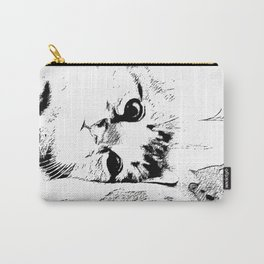 Lazy Kitten Carry-All Pouch