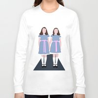 the shining Long Sleeve T-shirts featuring Shining Twins by Alberto P
