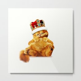 The king of cats Metal Print