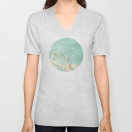 Candy Wheel Unisex V-Neck