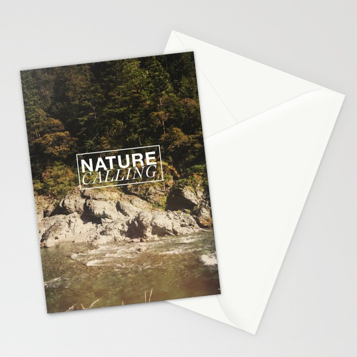 Nature Calling Stationery Cards