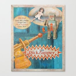The Dick Zapper Canvas Print