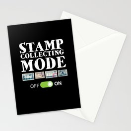 Stamp Collecting Mode Stationery Cards