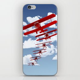 Retro Biplanes iPhone Skin