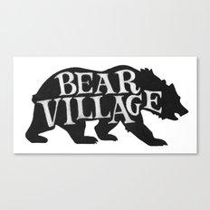 Bear Village - Grizzly Canvas Print