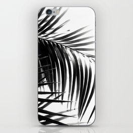 Palm Leaves Black & White Vibes #3 #tropical #decor #art #society6 iPhone Skin