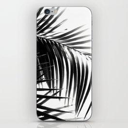 Palm Leaves Black & White Vibes #3 #tropical #decor #art #society6 iPhone Skin
