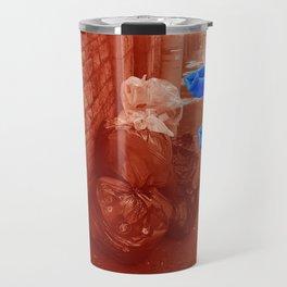 Rubbish (Red/Blue) Travel Mug